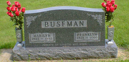 BUSEMAN, FRANKLIN - Hancock County, Iowa | FRANKLIN BUSEMAN