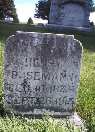 BUSEMANN, HENRY - Hancock County, Iowa | HENRY BUSEMANN