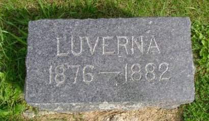 CARPENTER, LUVERNA - Hancock County, Iowa | LUVERNA CARPENTER