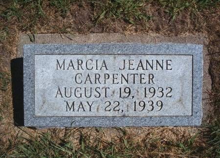 CARPENTER, MARCIA J - Hancock County, Iowa | MARCIA J CARPENTER