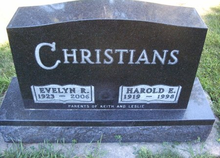 CHRISTIANS, HAROLD E - Hancock County, Iowa | HAROLD E CHRISTIANS