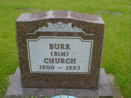 CHURCH, BURR (BIM) - Hancock County, Iowa | BURR (BIM) CHURCH