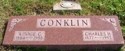 CONKLIN, CHARLES H - Hancock County, Iowa | CHARLES H CONKLIN