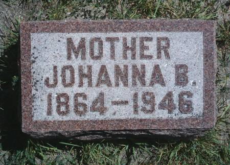 COOBS, JOHANNA B - Hancock County, Iowa | JOHANNA B COOBS