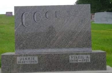COOK, VIRGIL A - Hancock County, Iowa | VIRGIL A COOK