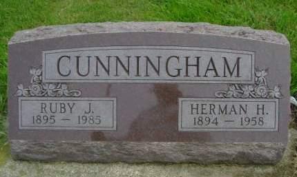 CUNNINGHAM, HERMAN H - Hancock County, Iowa | HERMAN H CUNNINGHAM