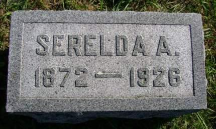 CUNNINGHAM, SERELDA A - Hancock County, Iowa   SERELDA A CUNNINGHAM