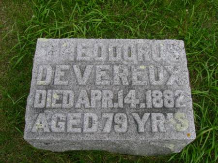 DEVEREUX, THEODORUS - Hancock County, Iowa | THEODORUS DEVEREUX