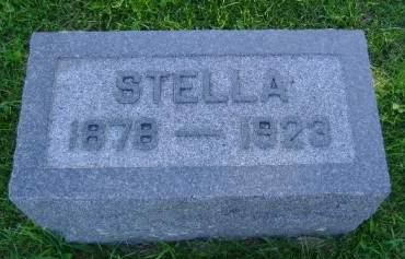 DIEGER, STELLA - Hancock County, Iowa | STELLA DIEGER