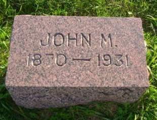 DOMINY, JOHN M - Hancock County, Iowa | JOHN M DOMINY