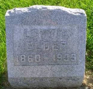 ELDER, LOTTIE - Hancock County, Iowa | LOTTIE ELDER