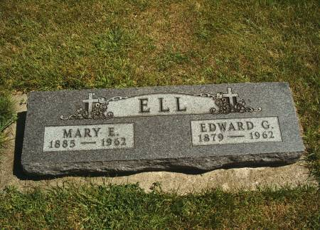ELL, EDWARD G - Hancock County, Iowa | EDWARD G ELL