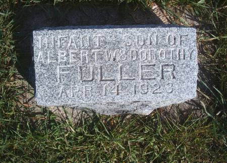FULLER, INFANT - Hancock County, Iowa | INFANT FULLER