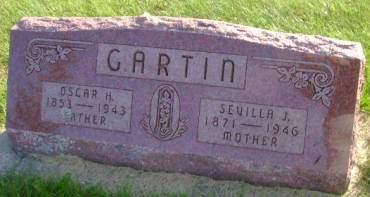 GARTIN, SEVILLA  J - Hancock County, Iowa | SEVILLA  J GARTIN