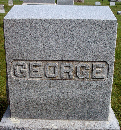 GEORGE, FAMILY MONUMENT - Hancock County, Iowa | FAMILY MONUMENT GEORGE
