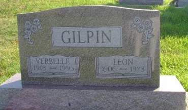 GILPIN, LEON - Hancock County, Iowa   LEON GILPIN