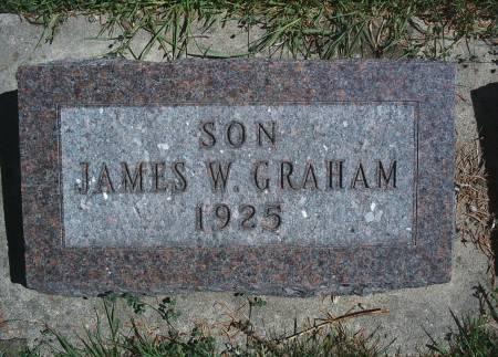 GRAHAM, JAMES W - Hancock County, Iowa | JAMES W GRAHAM