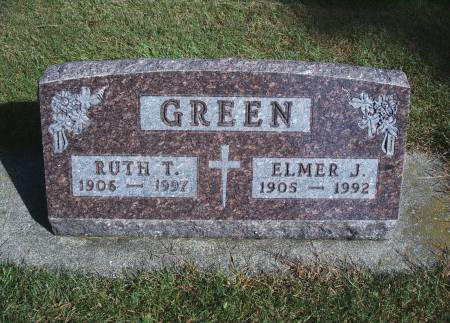 EWING GREEN, RUTH T - Hancock County, Iowa | RUTH T EWING GREEN