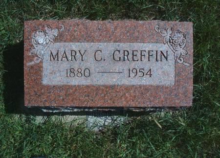 GREFFIN, MARY C - Hancock County, Iowa | MARY C GREFFIN