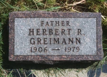 GREIMANN, HERBERT R - Hancock County, Iowa | HERBERT R GREIMANN