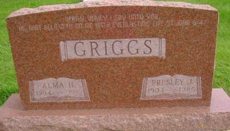 GRIGGS, PRESLEY J - Hancock County, Iowa | PRESLEY J GRIGGS