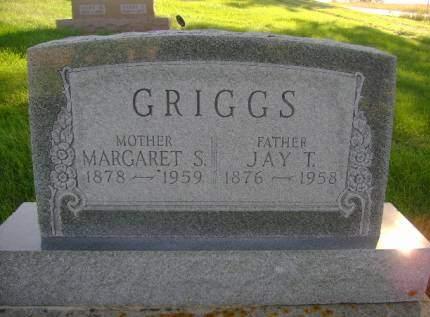 GRIGGS, MARGARET S - Hancock County, Iowa | MARGARET S GRIGGS