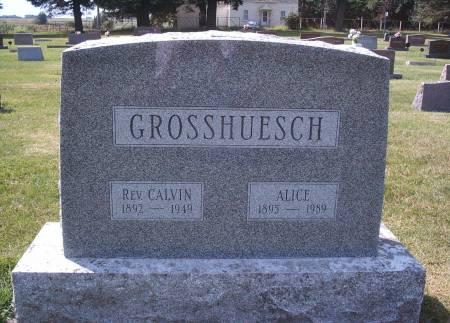 GROSSHUESCH, CALVIN - Hancock County, Iowa | CALVIN GROSSHUESCH