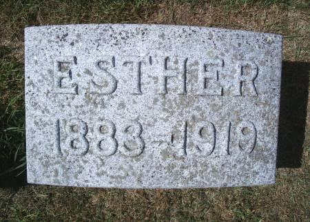 GRUETZMACHER, ESTHER - Hancock County, Iowa | ESTHER GRUETZMACHER
