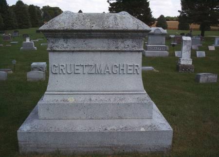 GRUETZMACHER, FAMILY MONUMENT - Hancock County, Iowa | FAMILY MONUMENT GRUETZMACHER
