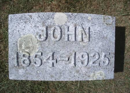 GRUETZMACHER, JOHN - Hancock County, Iowa | JOHN GRUETZMACHER