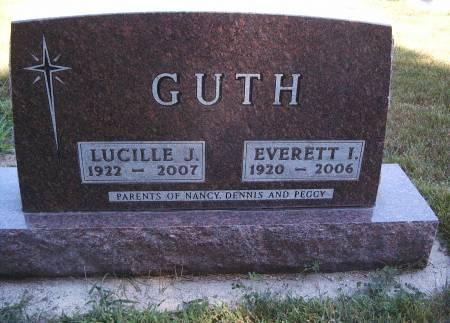 HATCH GUTH, LUCILLE J - Hancock County, Iowa | LUCILLE J HATCH GUTH