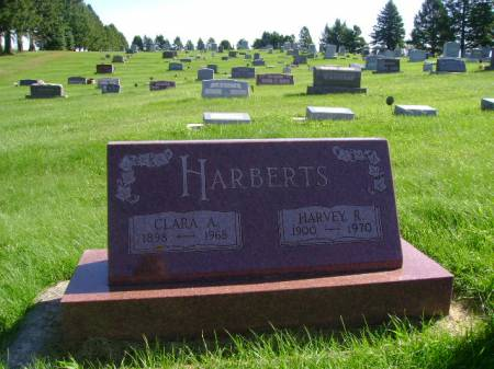 HARBERTS, HARVEY R - Hancock County, Iowa   HARVEY R HARBERTS