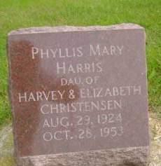 HARRIS, PHYLLIS M - Hancock County, Iowa | PHYLLIS M HARRIS