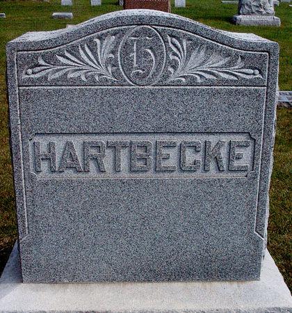 HARTBECKE, FAMILY MONUMENT - Hancock County, Iowa | FAMILY MONUMENT HARTBECKE