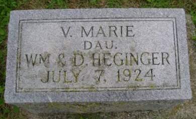 HEGINGER, V MARIE - Hancock County, Iowa | V MARIE HEGINGER