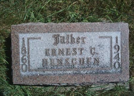 HENSCHEN, ERNEST C - Hancock County, Iowa | ERNEST C HENSCHEN