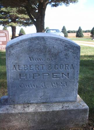 HIPPEN, INFANT - Hancock County, Iowa | INFANT HIPPEN