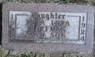 HOFFMAN, LULA L - Hancock County, Iowa | LULA L HOFFMAN