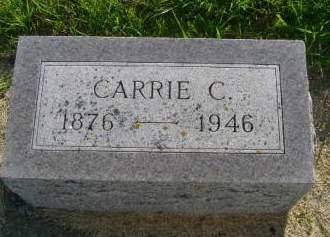HUGHES, CARRIE C - Hancock County, Iowa | CARRIE C HUGHES