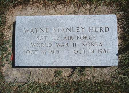 HURD, WAYNE S - Hancock County, Iowa   WAYNE S HURD