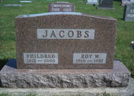JACOBS, ROY W - Hancock County, Iowa | ROY W JACOBS