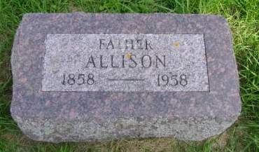 JOHNSON, ALLISON - Hancock County, Iowa   ALLISON JOHNSON