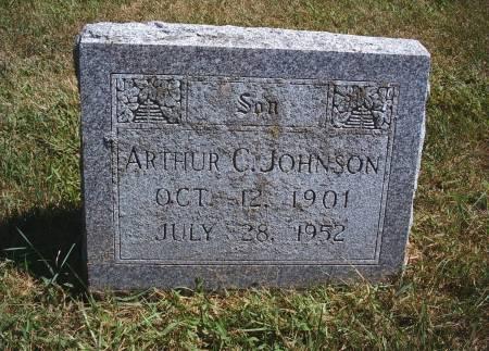 JOHNSON, ARTHUR C - Hancock County, Iowa | ARTHUR C JOHNSON