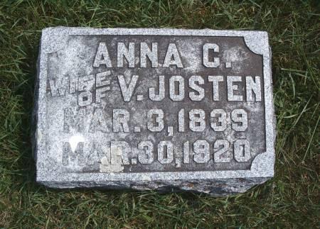 JOSTEN, ANNA C - Hancock County, Iowa | ANNA C JOSTEN