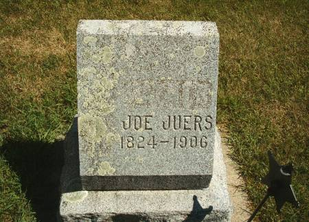JUERS, JOE - Hancock County, Iowa | JOE JUERS
