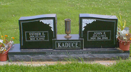 KADUCE, JOHN F. - Hancock County, Iowa | JOHN F. KADUCE