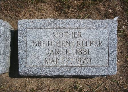 KEEPER, GRETCHEN - Hancock County, Iowa | GRETCHEN KEEPER