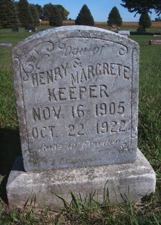 KEEPER, INFANT - Hancock County, Iowa | INFANT KEEPER