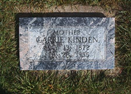 KINDEN, CARRIE - Hancock County, Iowa | CARRIE KINDEN
