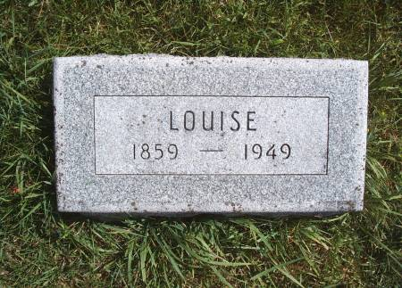 KLUCKHOHN, LOUISE - Hancock County, Iowa | LOUISE KLUCKHOHN